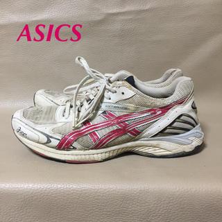 asics - 【used】ASICS アシックス スニーカー 24.5センチ