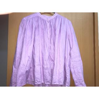 ロンハーマン(Ron Herman)のMYLAN リネンギャザーシャツ(シャツ/ブラウス(長袖/七分))