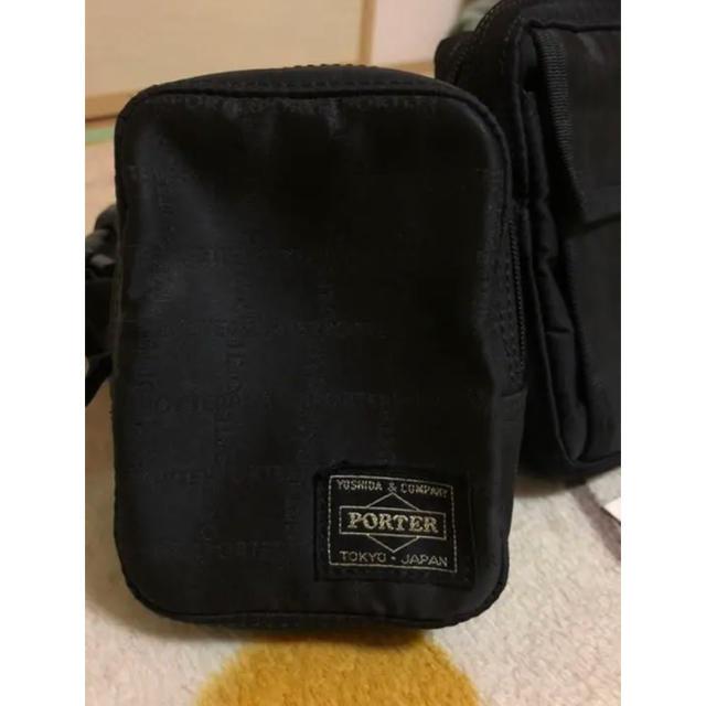 PORTER(ポーター)のPORTER ポーター ショルダーバッグ ミニポーチ付き メンズのバッグ(ショルダーバッグ)の商品写真
