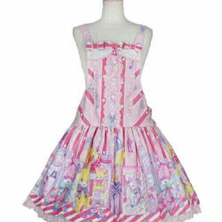 Angelic Pretty - Angelic Pretty Toy Doll Box サロペット ピンク