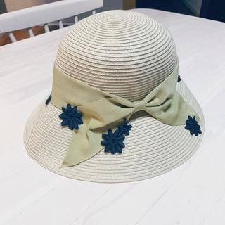 トッカ(TOCCA)の【美品】トッカ 麦わら帽子(麦わら帽子/ストローハット)