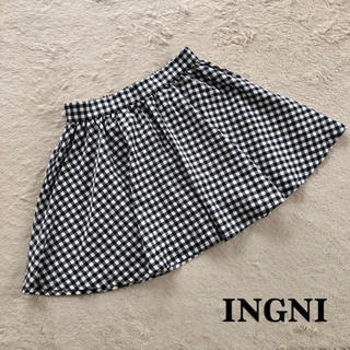 INGNI - ♡INGNI♡イング♡ギンガムチェック柄スカート