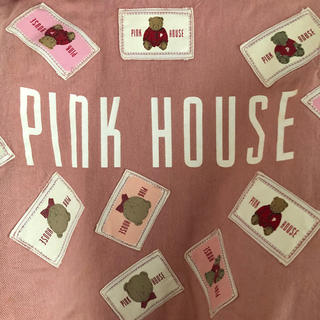 ピンクハウス(PINK HOUSE)のピンクハウス❤️アップリケいっぱいのピンク色のフード付きブルゾン(ブルゾン)