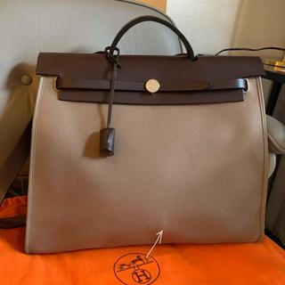 エルメス(Hermes)の本日限定価格稀少カーラー 新型エールバッグ ジップ MM 2WAY ハンドバッグ(ショルダーバッグ)