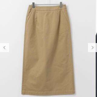 ドアーズ(DOORS / URBAN RESEARCH)のIラインストレッチロングスカート(ひざ丈スカート)