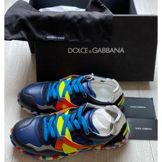 ドルチェアンドガッバーナ(DOLCE&GABBANA)の[新品未使用]  DOLCE&GABBANA スニーカー サイズUK7(スニーカー)