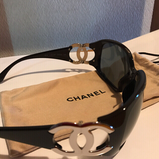 シャネル(CHANEL)の♡シャネル♡サングラス♡CHANEL♡ビッグロゴ♡お値下げ♡(サングラス/メガネ)