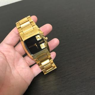 ニクソン(NIXON)のnixon ニクソン レア BANKS バンクス ゴルドgold(腕時計(アナログ))