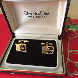 クリスチャンディオール(Christian Dior)のクリスチャン ディオール カフリンクス(カフリンクス)