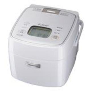 三菱電機 - 新品未使用備長炭 炭炊釜 NJ-SEA06-W ピュアホワイト