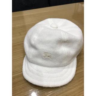 バーバリー(BURBERRY)のBurberryベビー帽子 46㎝(帽子)