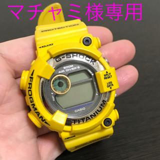 ジーショック(G-SHOCK)のG-Shock FROGMAN DW-8200 AC 黄色 フロッグマン(腕時計(デジタル))