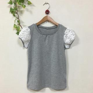 肩シースルーTシャツ 140