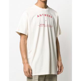ラフシモンズ(RAF SIMONS)の★ ラフシモンズ Tシャツ Antwerp オフホワイト L   ★(Tシャツ/カットソー(半袖/袖なし))