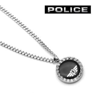 ポリス(POLICE)のPOLICE ポリス ネックレス メンズ オニキス ブランド ブラック(ネックレス)