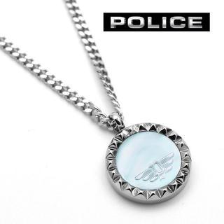 ポリス(POLICE)のPOLICE ポリス ネックレス メンズ マザーオブパール ブランド(ネックレス)