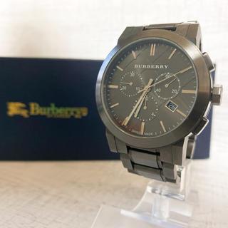 バーバリー(BURBERRY)の【動作OK】BURBERRY バーバリー BU9354 腕時計 クロノグラフ(腕時計(アナログ))