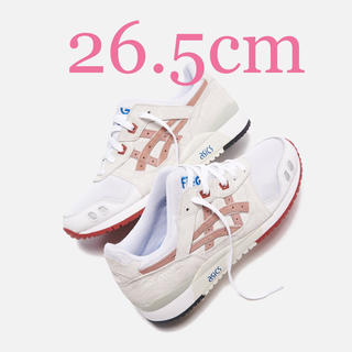 アシックス(asics)のKITH ASICS GEL-LYTE Ⅲ YOSHINO ROSE(スニーカー)