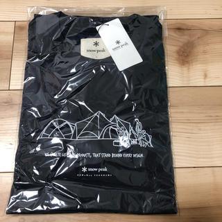 スノーピーク(Snow Peak)の限定品 スノーピーク  NEWoMAN YOKOHAMA店オープン時完売Tシャツ(Tシャツ/カットソー(半袖/袖なし))