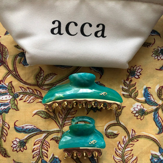 acca - acca クリップ中小とポーチのセット
