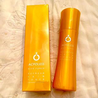 ライスフォース(ライスフォース)のアクポレス リフレッシュスキントナー 新品(化粧水/ローション)
