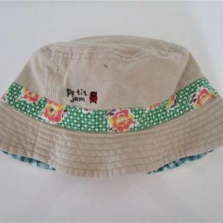 プチジャム(Petit jam)のpetit jam 帽子 リバーシブル(帽子)