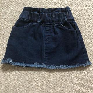 プティマイン(petit main)のデニムスカート80センチ(スカート)