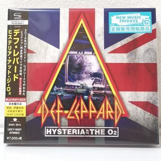 ヒステリア アット ジ O2 ブルーレイ SHM-CD デフ・レパード 国内盤(ミュージック)