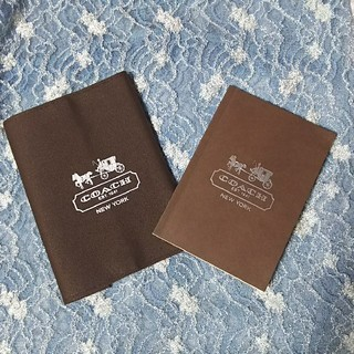 コーチ(COACH)の【COACH】コーチ ブックカバー 手帳  ノート(ブックカバー)