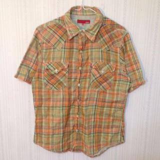 エドウィン(EDWIN)のエドウィン 半袖 チェックシャツ(シャツ)