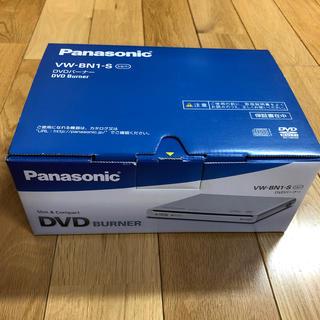 パナソニック(Panasonic)のパナソニック DVDバーナー VW-BN1-S  シルバー(PC周辺機器)