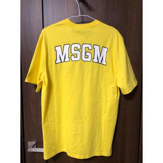 エムエスジイエム(MSGM)のMSGM Tシャツ 新品 未使用 タグ付き 人気 (Tシャツ/カットソー(半袖/袖なし))