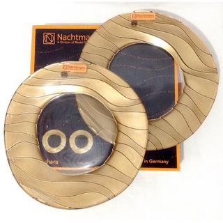 ナハトマン(Nachtmann)の🚫売約済🚫希少 新品 ナハトマン サハラ 22cm 2枚 プレート ゴールド (食器)