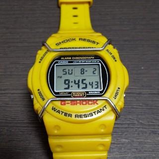 ジーショック(G-SHOCK)のG-SHOCK DW-5700 イエロースティング(腕時計(デジタル))