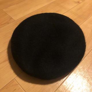 センスオブプレイスバイアーバンリサーチ(SENSE OF PLACE by URBAN RESEARCH)の【美品】SENSE OF PLACE  ウール混ベレー帽(ハンチング/ベレー帽)
