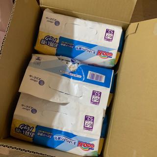 ユニチャーム(Unicharm)のグーン おむつ テープタイプ ビック 52枚 3袋 エリエール(おむつ/肌着用洗剤)