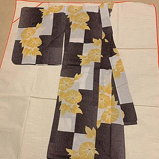 上品なレディース浴衣 約160cm(浴衣)