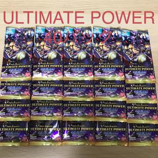 デジモンカード R以下 40パック ULTIMATE POWER(その他)