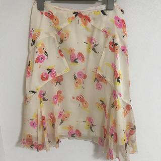 アナスイ(ANNA SUI)のANNA SUI ウィルセレクション 花柄スカート(ひざ丈スカート)