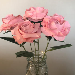 折り紙 薔薇(その他)