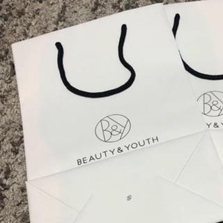 ビューティアンドユースユナイテッドアローズ(BEAUTY&YOUTH UNITED ARROWS)の専用 beauty and youth ショッパー ショップ袋 38×25(ショップ袋)