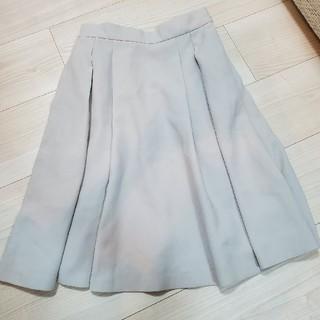 デビュードフィオレ(Debut de Fiore)のデビュードフィオレ♡タックスカート(ひざ丈スカート)