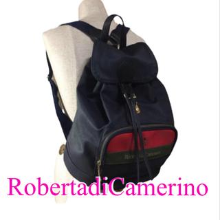 ロベルタディカメリーノ(ROBERTA DI CAMERINO)の【美品 】☆ ロベルタ ディ カメリーノ リュックサック(リュック/バックパック)