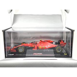 フェラーリ(Ferrari)のBBR 1/18 シャルル・ルクレール 2019 フェラーリ ベルギーGP(ミニカー)