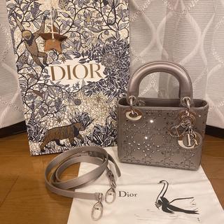 """クリスチャンディオール(Christian Dior)のDior """"カナージュ"""" サテン バッグ(ハンドバッグ)"""