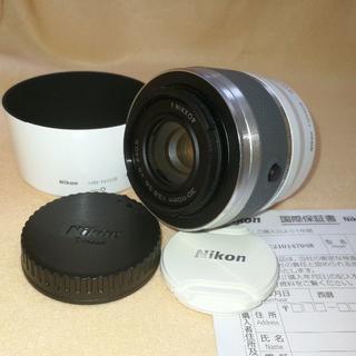 ニコン(Nikon)の【美品】望遠 Nikon 1 NIKKOR 30-110mm 白(レンズ(ズーム))