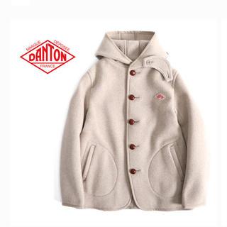 ダントン(DANTON)の【定価27500円】ダントン ウールモッサ シングルフードジャケット 36(ブルゾン)