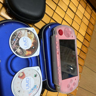 PlayStation Portable - ソフト5本セット PSP 3000 レッド 赤 本体 美品