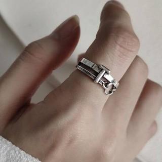 トゥデイフル(TODAYFUL)のsilver925  デザイン シルバーリング 指輪シルバー925(リング(指輪))