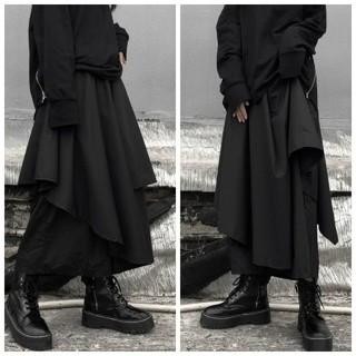 モード系えもガール&えもボーイ袴パンツ ラップパンツ履きやすい動きやすいですよ♪(サルエルパンツ)